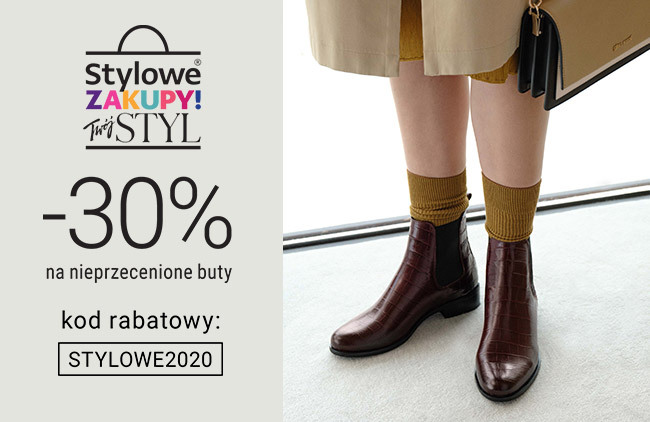 Stylowe buty damskie-30 %